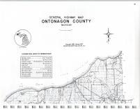 Map Image 001, Ontonagon County 1977
